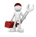 Personnage 3D Technicien