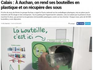 Article La Voix du Nord Ecobox Recyclage Calais
